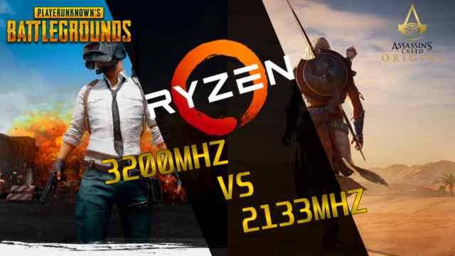 2133Mhz vs 3200Mhz RAM Ryzen 7